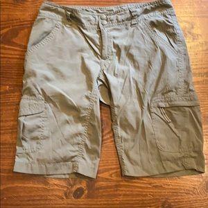 The North Face sz 4 grey shorts